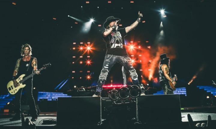 Guns N' Roses vem ao Brasil com formação clássica em novembro