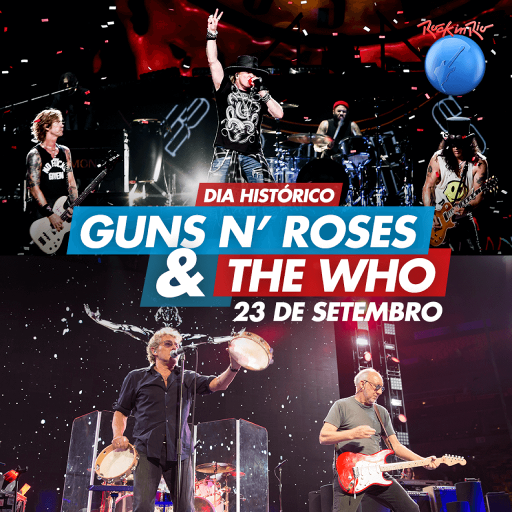 Assistir Guns N' Roses ao vivo Rock In Rio 2017 Dublado e Legendado Online