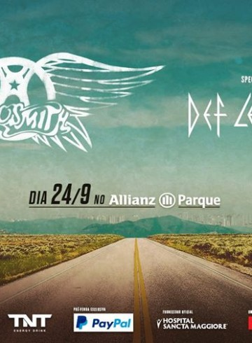 EXCURSÃO ROCK IN RIO 2017 21/09  Quinta Feira – Aerosmith
