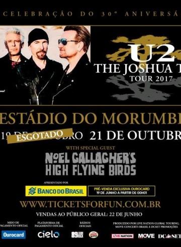 EXCURSÃO U2 MORUMBI # 21/10 – SP 2017