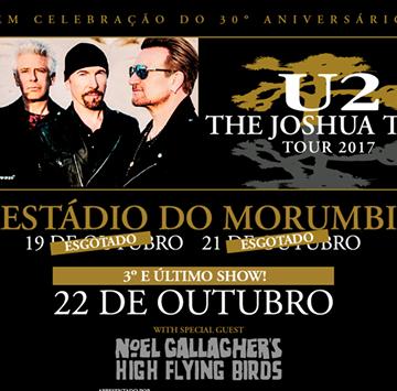 EXCURSÃO U2 MORUMBI # 22/10 – SP 2017