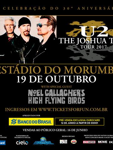 EXCURSÃO U2 MORUMBI # 19/10 – SP 2017