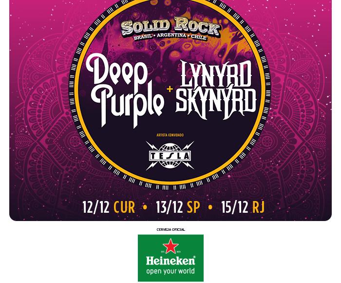 EXCURSÃO Solid Rock – Deep Purple & Lynyrd Skynyrd & Tesla