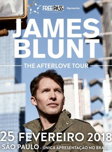 EXCURSÃO JAMES BLUNT