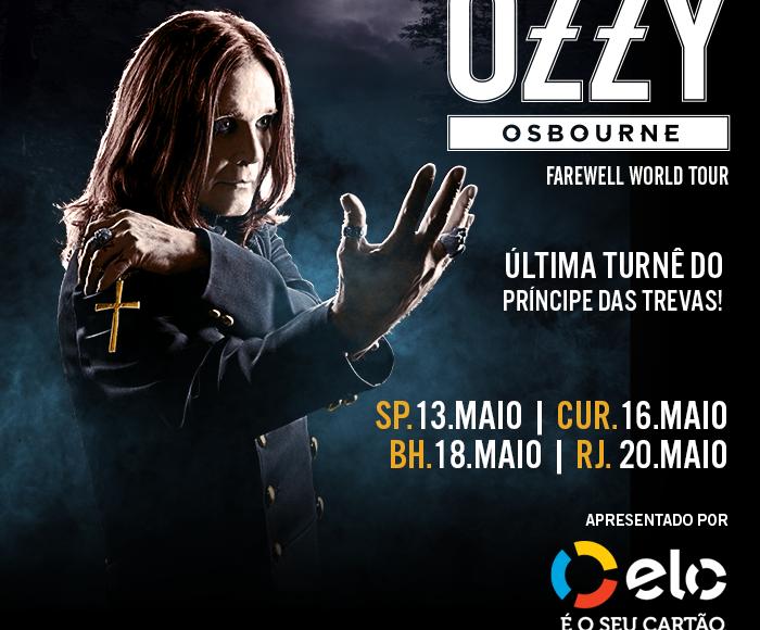 EXCURSÃO Ozzy Osbourne  2018