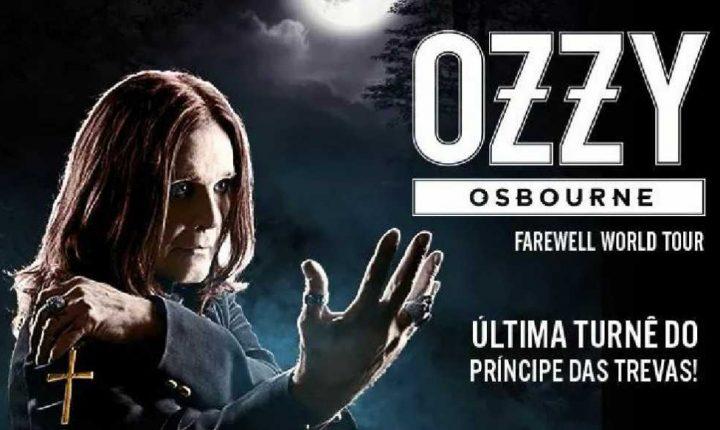 Ozzy Osbourne: Turnê de despedida e shows no Brasil em 2018