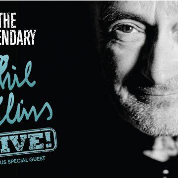 Phil Collins anuncia três shows no Brasil em fevereiro de 2018