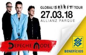 Excursão  Depeche Mode   Ribeirão Preto e Região