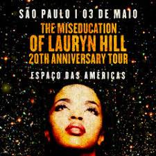 Lauryn Hill fará show em São Paulo em 2019.