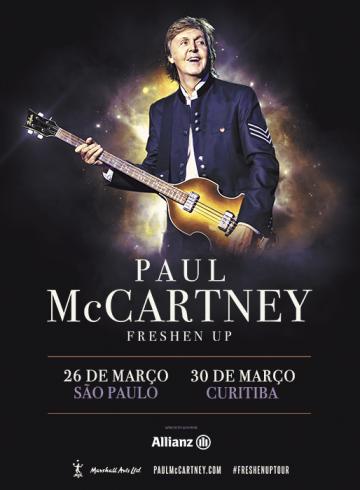 Excursão PAUL McCARTNEY  Ribeirão Preto e Região