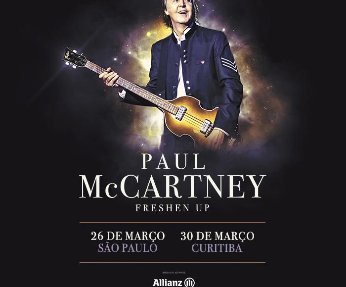 Excursão PAUL McCARTNEY  Ribeirão Preto e Região – Dia 27.03