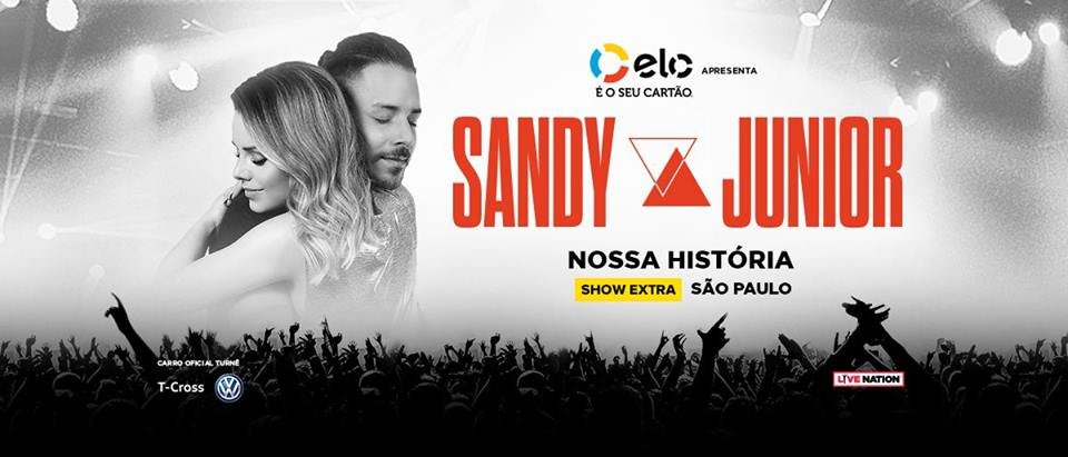 Excursão SANDY E JUNIOR –  Ribeirão Preto e Região  Dia 25.08 Show Extra