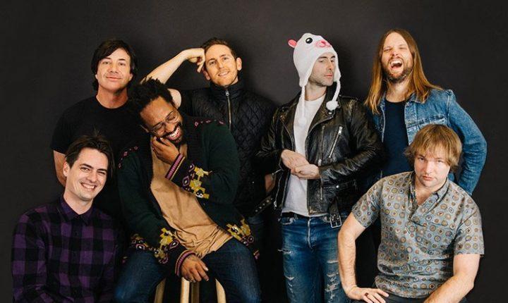 Maroon 5 define datas para turnê no Brasil