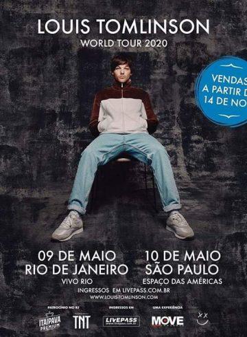 Excursão Louis Tomlinson Ribeirão Preto e Região