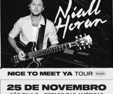 Niall Horan, ex-One Direction, cancela show no Brasil por causa da covid-19
