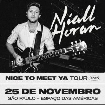 Niall Horan, ex-One Direction, cancela show no Brasil por causa da covid-19