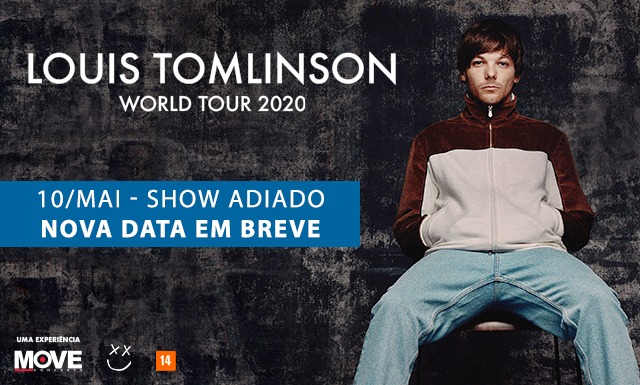 Louis Tomlinson confirma adiamento de shows no Brasil por causa do coronavírus